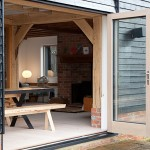 Bi Folding doors, Oak barn conversion