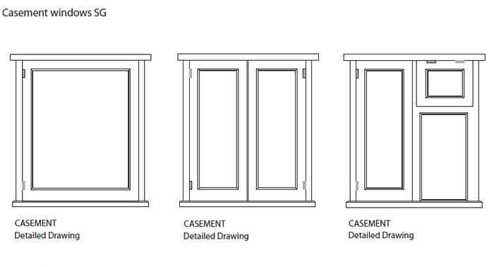 Wooden windows sussex parsons joineryreplacement wooden for Window design sketch