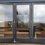 Barn conversion bi folding doors