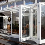 Bi Folding doors and roof lantern design